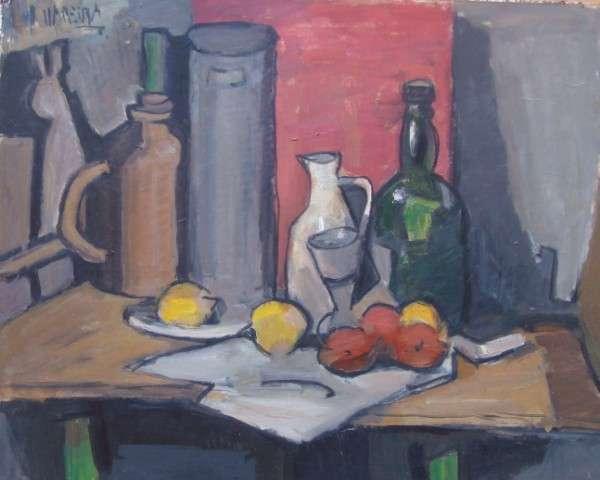 Clases de dibujo, composición y pintura al óleo