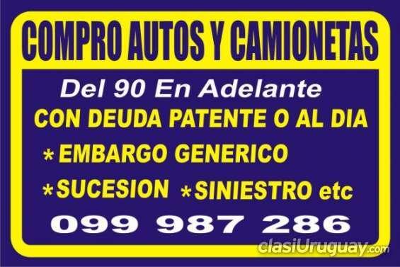 Impecable a la venta autos y camionetas consultar.