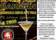 Ofrezco! barman bartender cursos  talleres  seminarios  bar escucho propuestas.