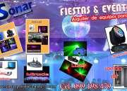 ALQUILER DE EQUIPOS PARA DJ EN MANANTIALES  LA BARRA Y JOSE IGNACIO