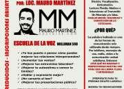 TALLER DE VERANO - VOZ Y LOCUCIÓN EN LA ESCUELA DE LA VOZ - MAURO MARTINEZ