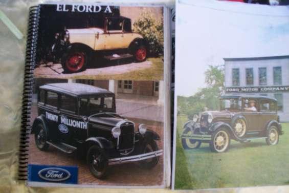 * automobilia c.a.a * venta manuales autos antiguos linea ford chevrolet