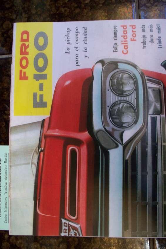 * manuales de taller y despiece ford f-100 ** automobilia c.a.a. *desde 1972 **