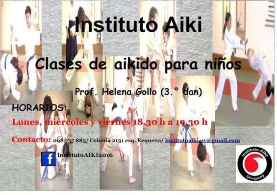 Clases de aikido para niños (a partir de 4 años)