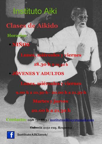 Clases de aikido para niños, jóvenes y adultos