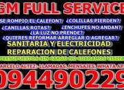 CALEFONES REPARACIONES TODAS LAS MARCAS Y MODELOS , SERVICIOS SANITARIOS Y DE ELECTRICIDAD
