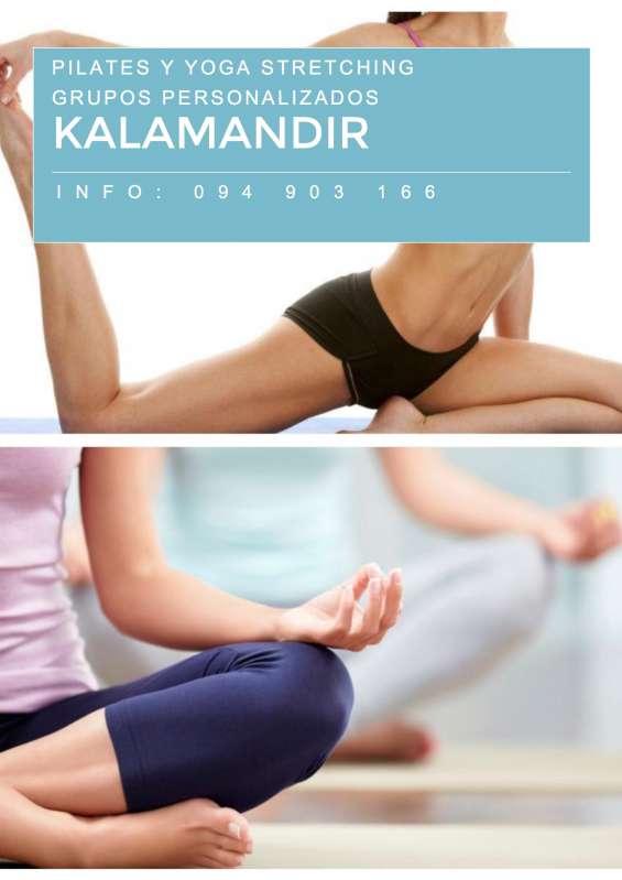 Clases de pilates y yoga stretching