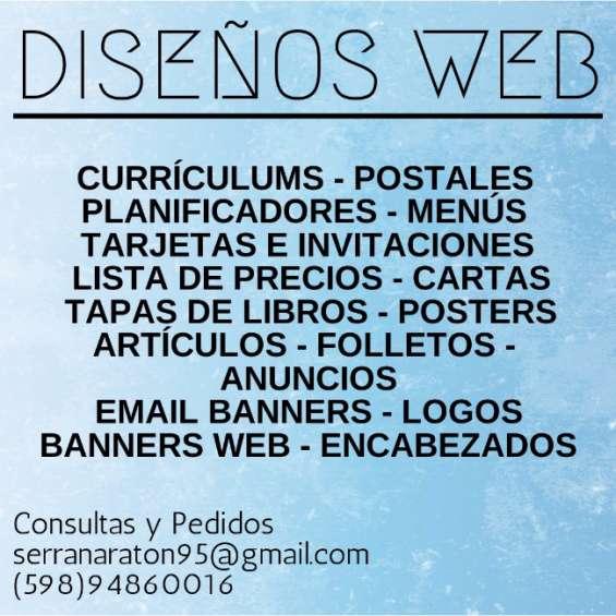 Hago diseños web económicos, consulte!