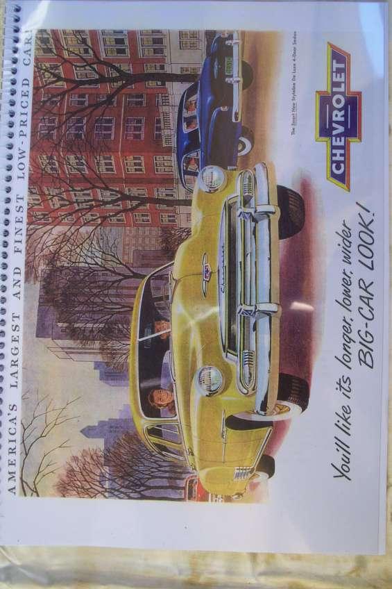 Manual despiece chevrolet  de luxe bel air 1951