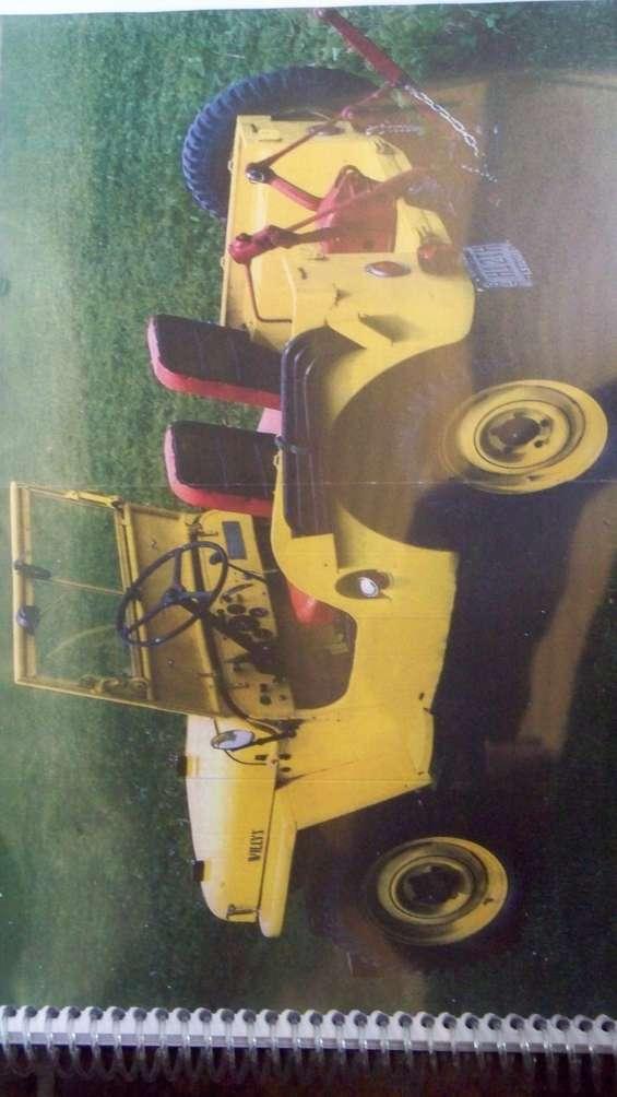 Manual de taller jeep willys cj 2 a   1947