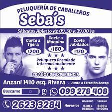 Peluquería seba's sms 099278408 as